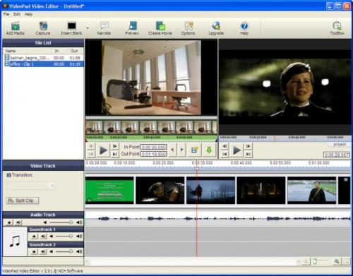VideoPad Video Editor 2.06 � Descarregar, Download, Baixar 2.06