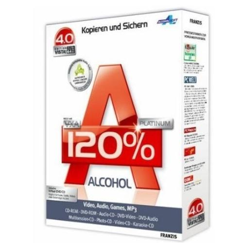 Alcohol 120% � Download 2.0.1.2033
