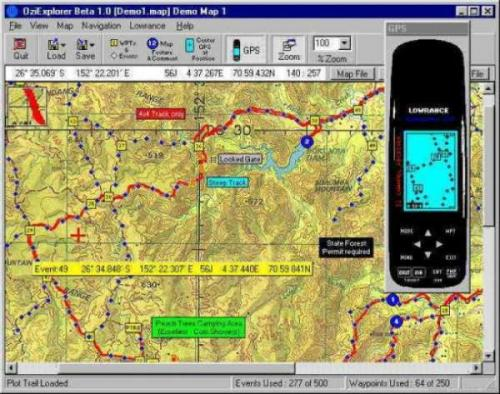 OziExplorer 3.95 � Descarregar, Download, Baixar 3.95
