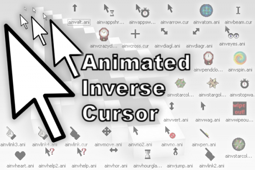 Animated Inverse Cursor