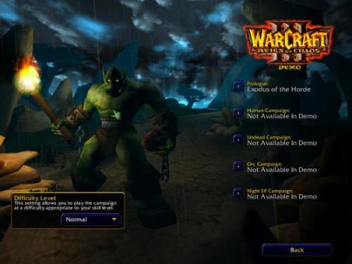 WarCraft III: Reign of Chaos Patch 1.24e � Descarregar, Download, Baixar 1.24e