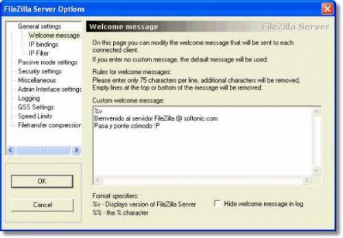FileZilla Server