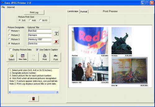 Easy JPEG Printer