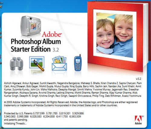 Adobe Photoshop Album SE 3.20 � Descarregar, Download, Baixar 3.20