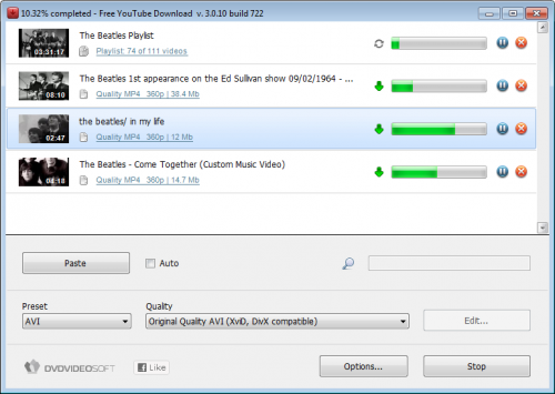 DVDVideoSoft Free YouTube Download