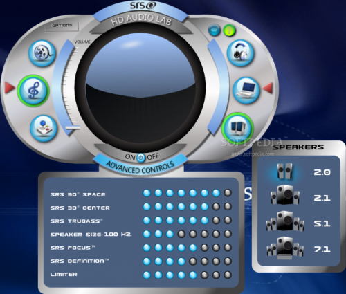 SRS Audio Sandbox 1.9.0.4 � Descarregar, Download, Baixar 1.9.0.4