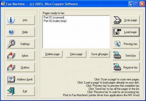 Fax Machine 5.02 � Descarregar, Download, Baixar 5.02