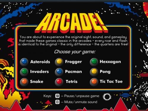 Arcade! Classic Arcade Pack 3.7.0 � Descarregar, Download, Baixar 3.7.0