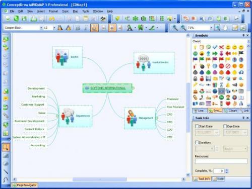 ConceptDraw Mindmap Professional