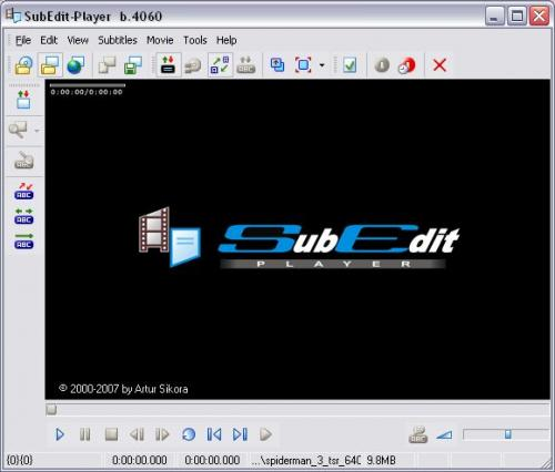 SubEdit Player