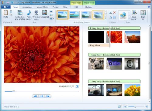 Windows Movie Maker 2.6 � Descarregar, Download, Baixar 2.6
