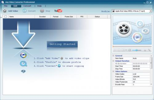 Any Video Converter � Download 3.25