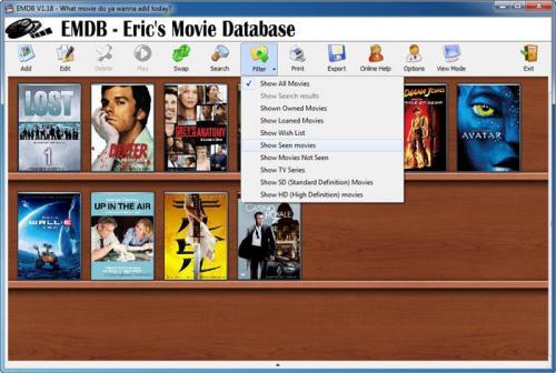 EMDB (Eric's Movie Database)