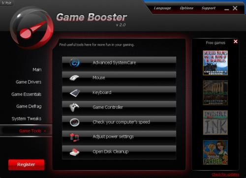 Game Booster 1.51 � Descarregar, Download, Baixar 1.51