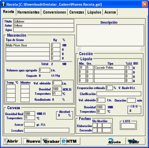 Recetas Gale�n 5.0 � Descarregar, Download, Baixar 5.0
