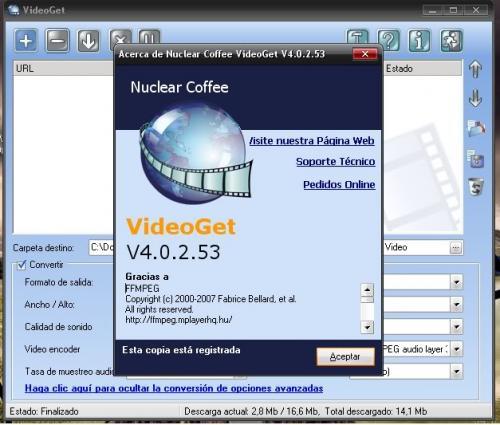 VideoGet 3.0.2.48 � Descarregar, Download, Baixar 3.0.2.48