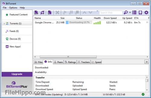 BitTorrent 7.0 � Descarregar, Download, Baixar 7.0