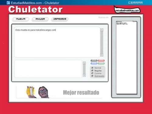 Chuletator