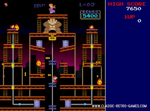 Donkey Kong Remake 1.0 � Descarregar, Download, Baixar 1.0