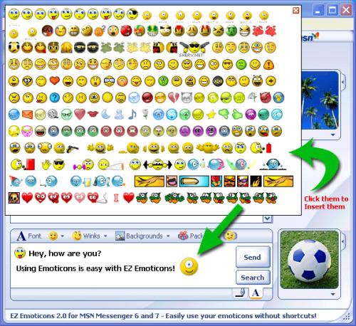Windows Live Messenger Emoticos