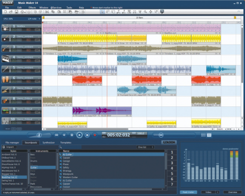 MAGIX Music Maker 16 � Descarregar, Download, Baixar 16